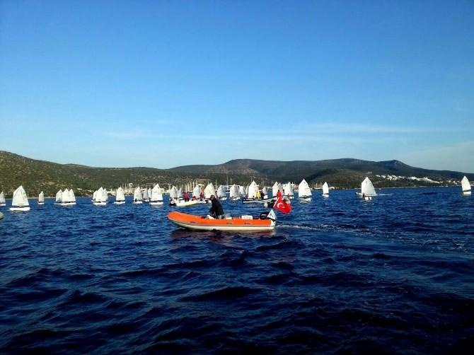 Bodrum'da 'Dünya Şampiyonları Yetiştiriyoruz' Sloganıyla Yelken Kursları Başlıyor