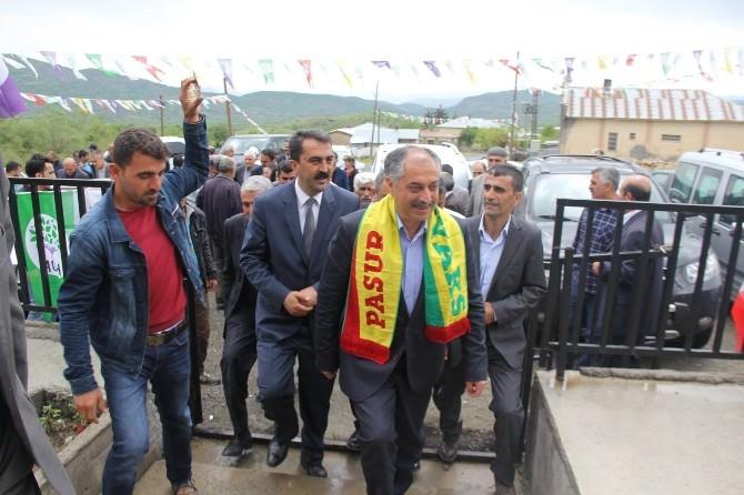 HDP Kulp'ta Seçim Bürosu Açtı