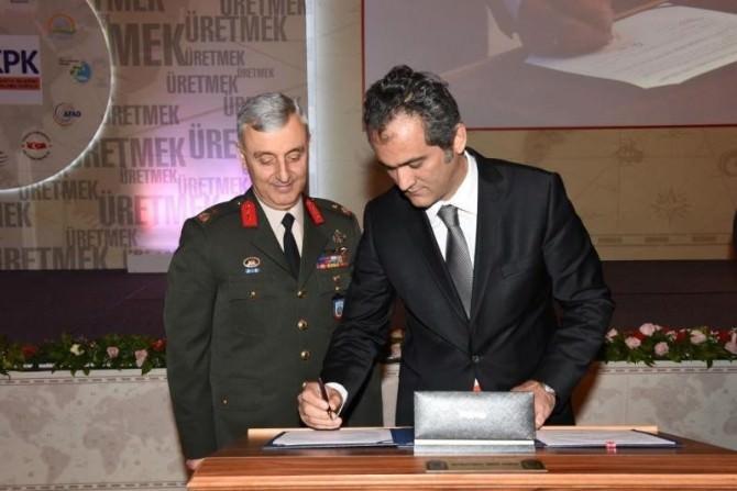 BEÜ, Harita Genel Komutanlığı İle İşbirliği Protokolü İmzaladı