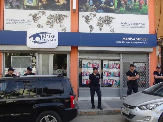 Manisa'da Altı STK'ya 'Paralel Yapı' Operasyonu