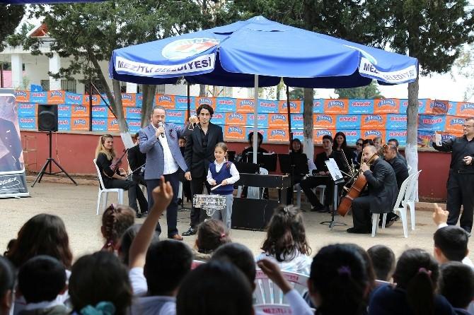 Mezitli Belediyesi Ve MDOB, Klasik Müziği Kırsala Taşıdı