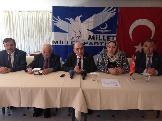 Millet Partisi Genel Başkanı Aykut Edibali Kayseri'de