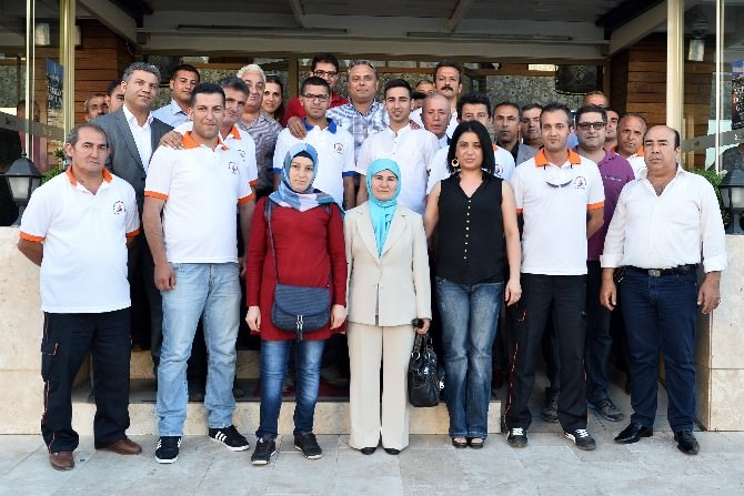Başkan Uysal, Taziye Hizmetleriyle Bir Araya Geldi