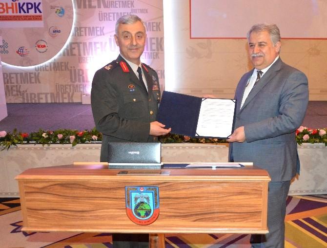 NEÜ İle Harita Genel Komutanlığı Arasında İşbirliği Protokolü