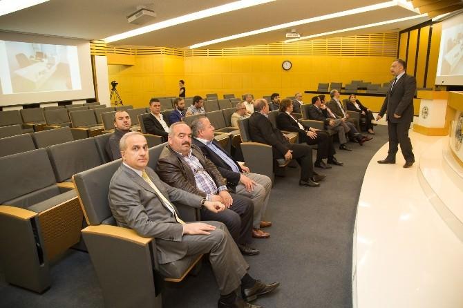 """Satso Meclis Üyelerine """"Toplantı Ve Zaman Yönetimi"""" Eğitimi"""