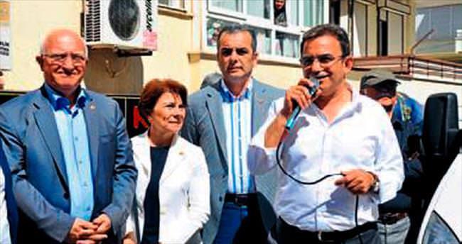 CHP'li adaylardan seçim ofisi açılışı