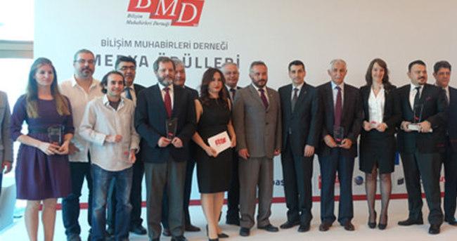 Bilişim Muhabirleri Derneği'nin Medya Ödülleri sahiplerini buldu
