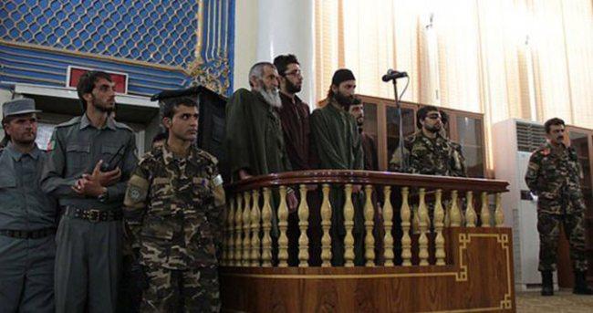 Afganistan'da 4 kişi idam cezasına çarptırıldı