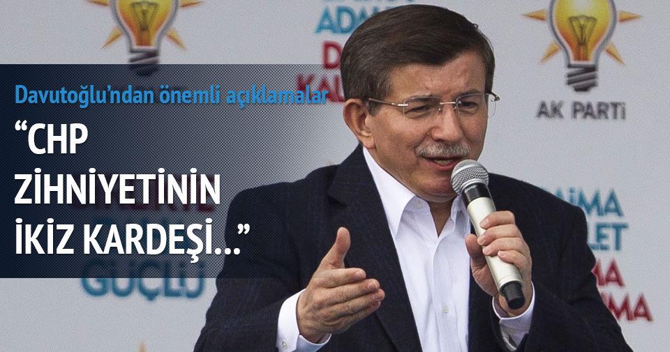 Başbakan Davutoğlu Ağrı'da konuştu