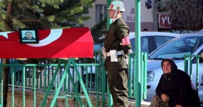 Şehit asker Bolu'da toprağa verildi