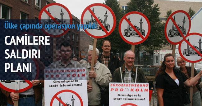 Almanya'da camilere saldırı planlayan örgüte operasyon