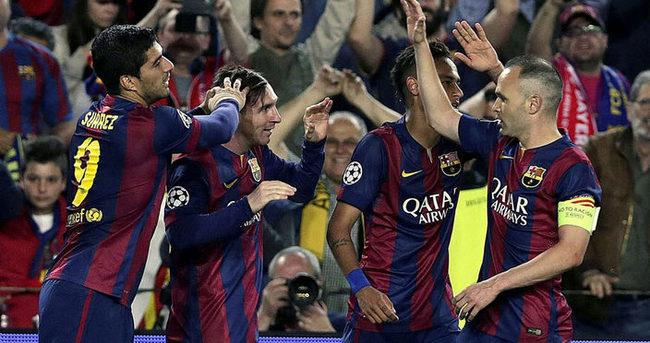 Barcelona Bayern'i ezdi geçti