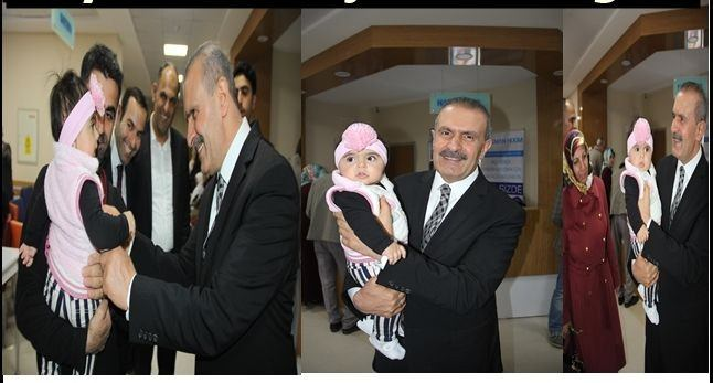 AK Parti Van Milletvekili Burhan Kayatürk'ün Çocuk Sevgisi