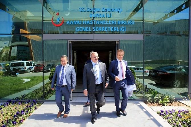 Bursa Valisi Münir Karaloğlu: