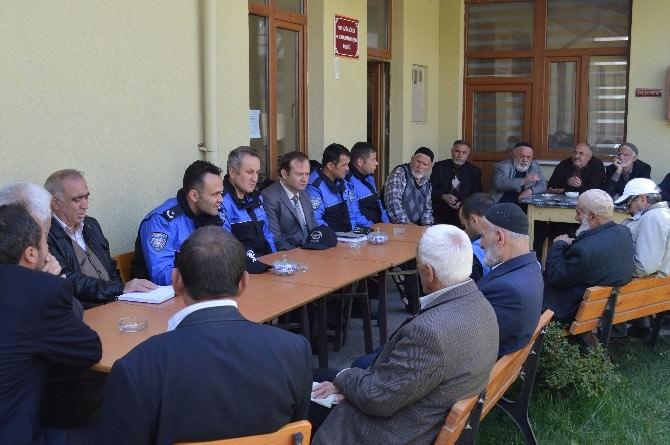 Erzincan Emniyeti Mimar Sinan Mahallesiyle Huzur Toplantısında