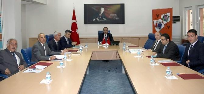 Hakkari'de Sodes Projelerini Değerlendirme Toplantısı Yapıldı