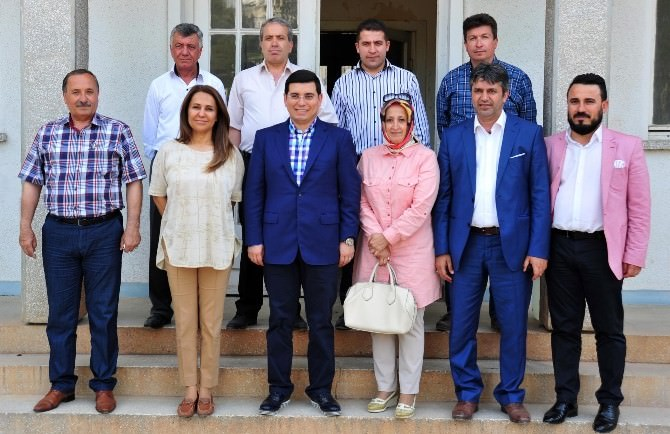 Başkan Tütüncü, Milletvekili Enç'i Dokuma'da Ağırladı