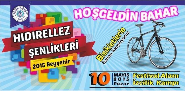 Beyşehir Belediyesi'nden Hıdırellez Şenlikleri