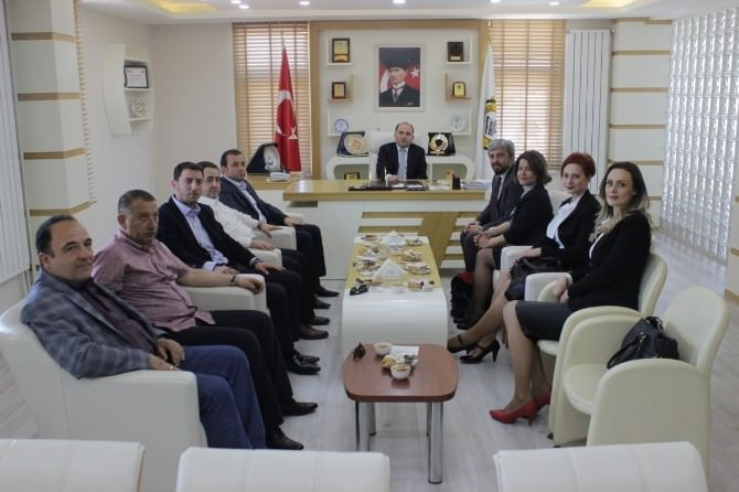 Kosova Heyeti Safranbolu TSO'yu Ziyaret Etti