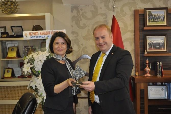 Kosova Heyetinden TSO'ya Ziyaret