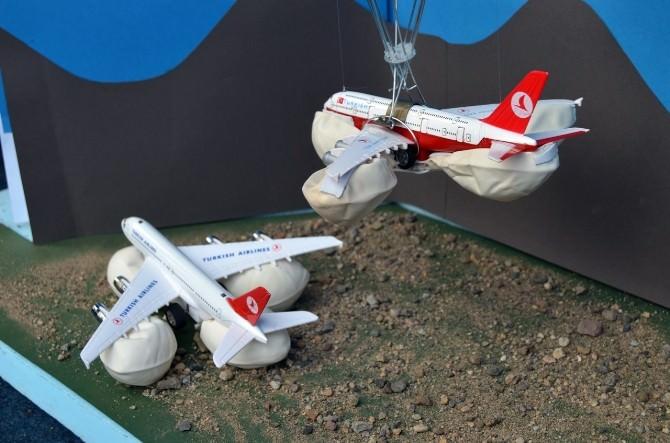 Trabzonlu Öğrencilerden Güvenli Uçak Projesi