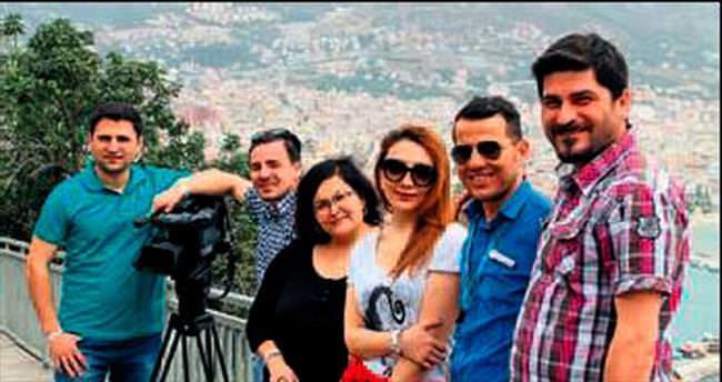 Azerbaycan basını Alanya'da