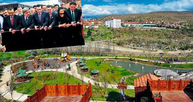 Büyükşehir'den Çamlıdere'ye dev park