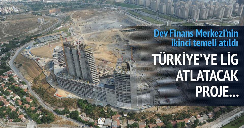 Finans Merkezi'nin temeli atıldı