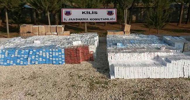 48 bin paket kaçak sigara yakalandı