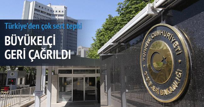 Türkiye Lüksemburg Büyükelçisini çağırdı