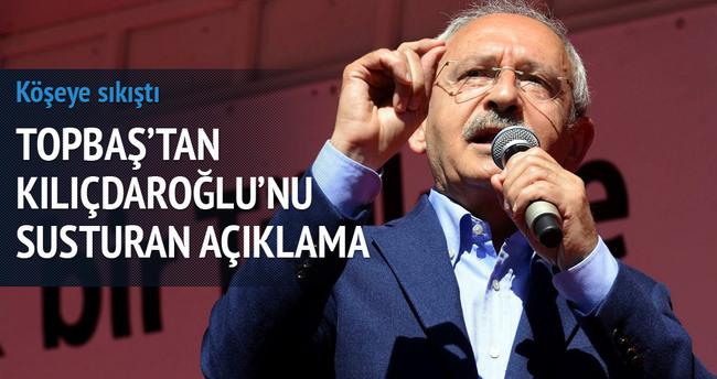 Kadir Topbaş'tan Kılıçdaroğlu'na taş