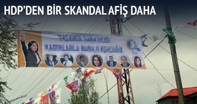 HDP'den bir skandal afiş daha