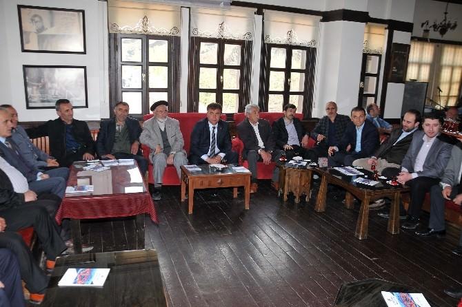 Başkan Çimen, AK Parti Kurucu Üyeleri İle Buluştu