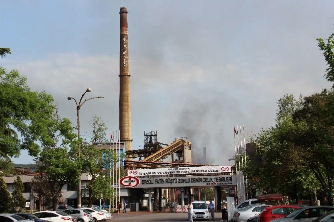 ERDEMİR Yüksek Fırında Patlama: 3 Yaralı