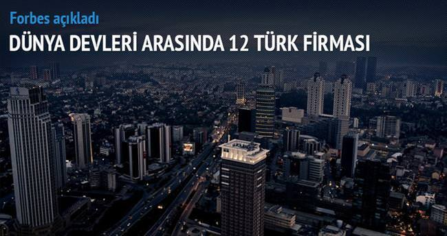 Küresel ligde 12 Türk şirketi