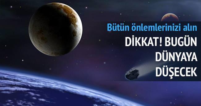 Uzay aracı bugün Dünya'ya düşecek