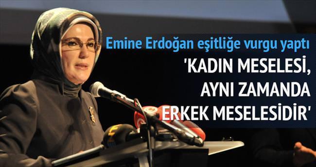 Erdoğan: Kadın meselesi...