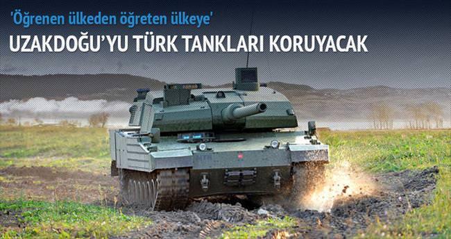 Uzakdoğu'ya Türk tankı