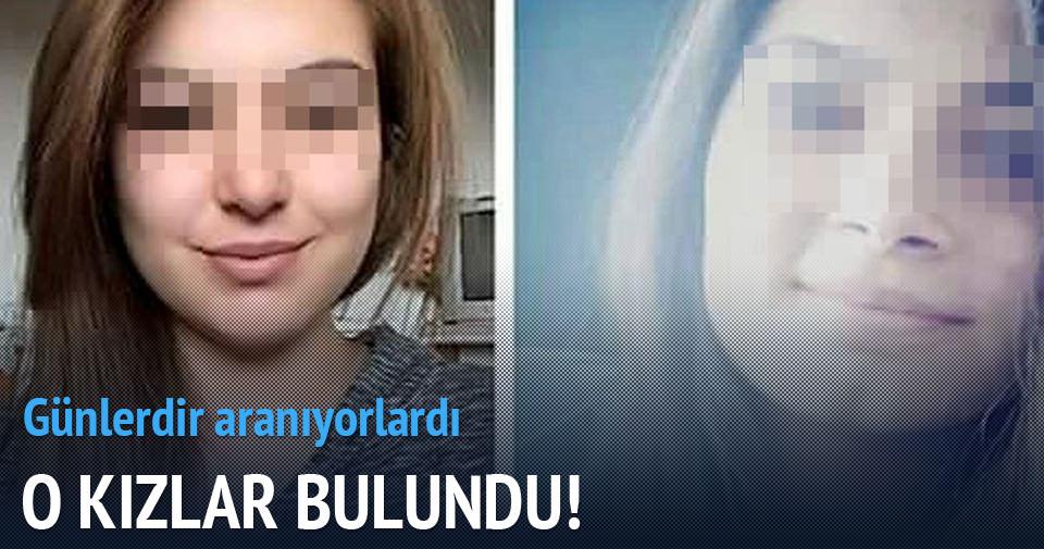 17 yaşındaki iki kız İstanbul'da bulundu