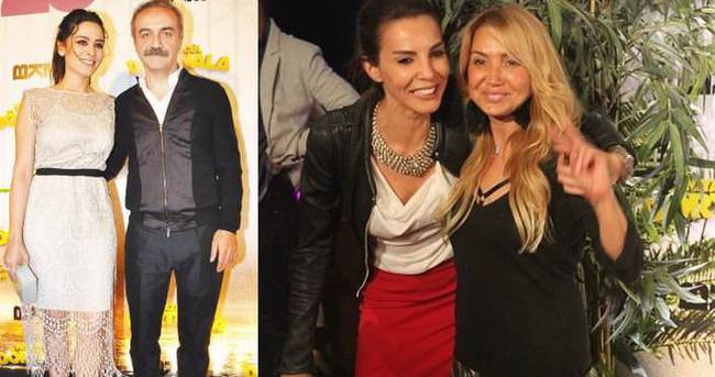 Yılmaz Erdoğan eşiyle gittiği galada eski sevgilisiyle karşılaştı
