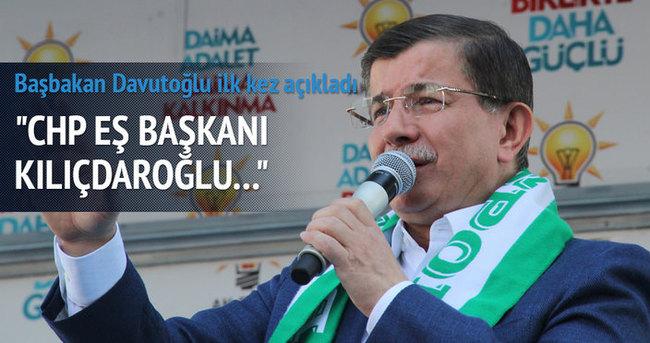 Başbakan Davutoğlu Adıyaman'da halka seslendi