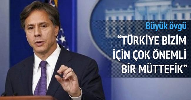 ABD: Türkiye önemli bir ortak