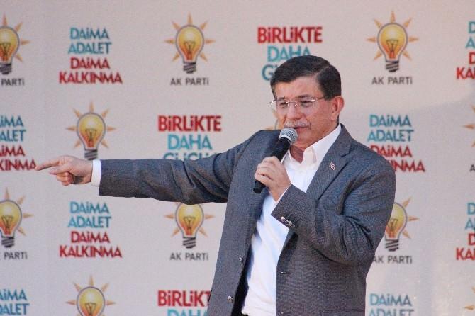 Başbakan Davutoğlu, Adıyaman'da