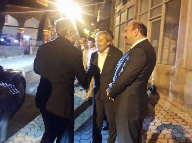 Enerji Ve Tabii Kaynaklar Bakanı Taner Yıldız Osmaneli'de