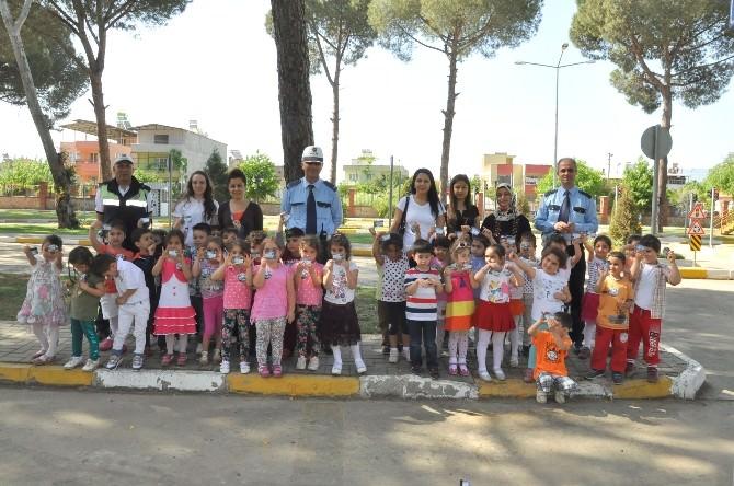 Nazilli'de Miniklere Trafik Eğitimi Verildi