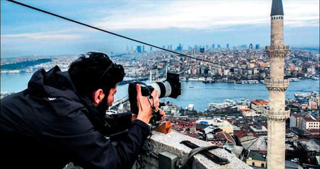 Mimar Sinan'ın minarelerinde 12 ay
