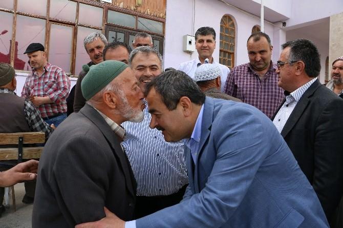 AK Parti Milletvekili Samani, Seçim Çalışmalarını Korkuteli'nde Sürdürdü