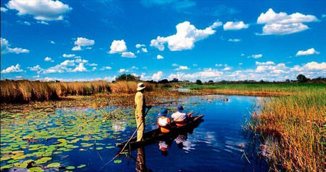 Afrika'da lüks tatil rotası