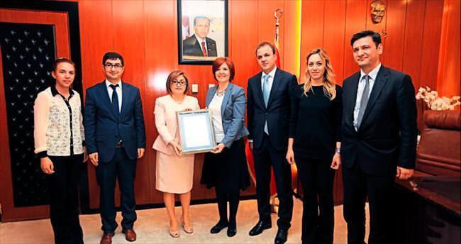 Gaziantep Büyükşehir'e enerji yönetimi sertifikası