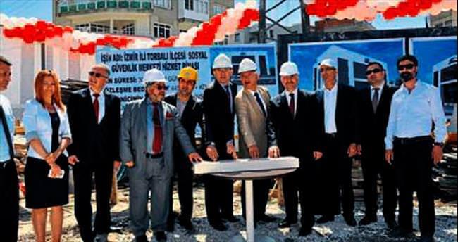 Torbalı'da SGK binası yapılıyor